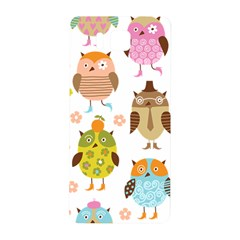 Cute Owls Pattern Samsung Galaxy Alpha Hardshell Back Case