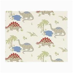 Dinosaur Art Pattern Small Glasses Cloth