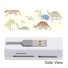 Dinosaur Art Pattern Memory Card Reader (stick)