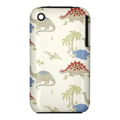 Dinosaur Art Pattern Iphone 3s/3gs