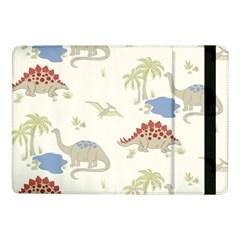 Dinosaur Art Pattern Samsung Galaxy Tab Pro 10 1  Flip Case