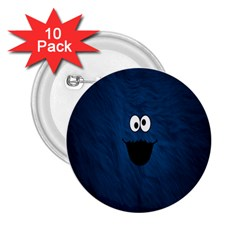 Funny Face 2 25  Buttons (10 Pack)