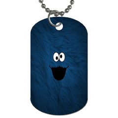 Funny Face Dog Tag (two Sides)