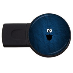 Funny Face Usb Flash Drive Round (2 Gb)
