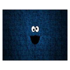 Funny Face Rectangular Jigsaw Puzzl