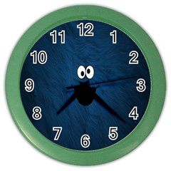 Funny Face Color Wall Clocks
