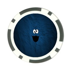 Funny Face Poker Chip Card Guard