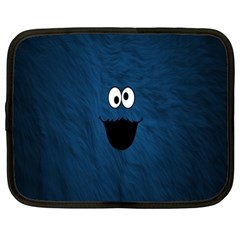 Funny Face Netbook Case (xxl)