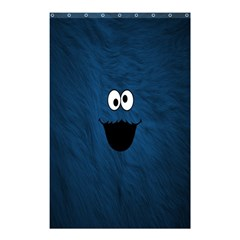 Funny Face Shower Curtain 48  X 72  (small)