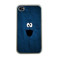 Funny Face Apple Iphone 4 Case (clear)
