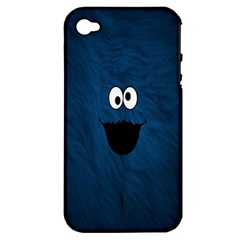 Funny Face Apple Iphone 4/4s Hardshell Case (pc+silicone)