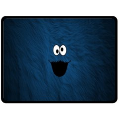 Funny Face Double Sided Fleece Blanket (large)