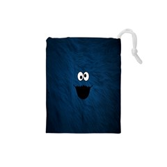 Funny Face Drawstring Pouches (small)