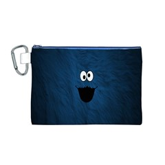 Funny Face Canvas Cosmetic Bag (m)