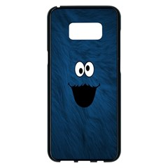 Funny Face Samsung Galaxy S8 Plus Black Seamless Case