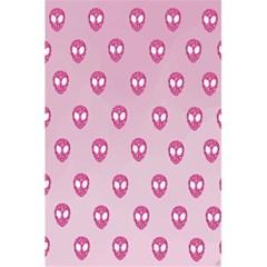 Alien Pattern Pink 5 5  X 8 5  Notebooks