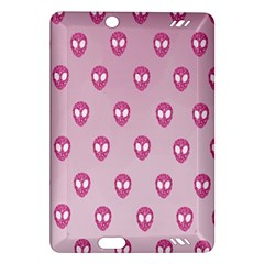 Alien Pattern Pink Amazon Kindle Fire Hd (2013) Hardshell Case