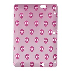 Alien Pattern Pink Kindle Fire Hdx 8 9  Hardshell Case
