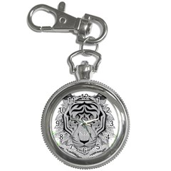 Tiger Head Key Chain Watches