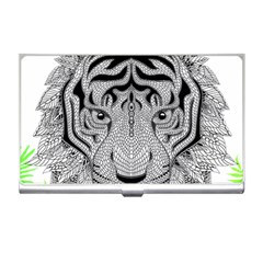 Tiger Head Business Card Holders
