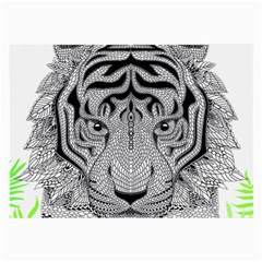 Tiger Head Large Glasses Cloth (2 Side)