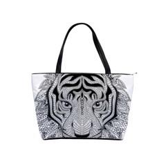 Tiger Head Shoulder Handbags