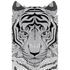 Tiger Head 5 5  X 8 5  Notebooks