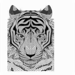 Tiger Head Small Garden Flag (two Sides)