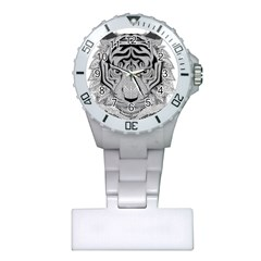 Tiger Head Plastic Nurses Watch