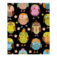 Cute Owls Pattern Shower Curtain 60  X 72  (medium)