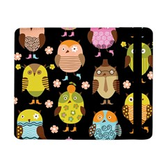 Cute Owls Pattern Samsung Galaxy Tab Pro 8 4  Flip Case