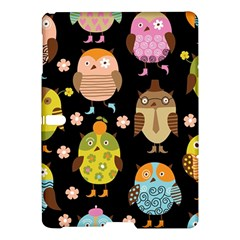 Cute Owls Pattern Samsung Galaxy Tab S (10 5 ) Hardshell Case
