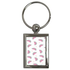 Watermelon Wallpapers  Creative Illustration And Patterns Key Chains (rectangle)