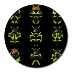 Beetles Insects Bugs Round Mousepads