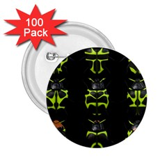 Beetles Insects Bugs 2 25  Buttons (100 Pack)