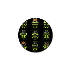 Beetles Insects Bugs Golf Ball Marker