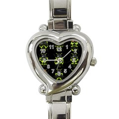 Beetles Insects Bugs Heart Italian Charm Watch