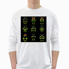Beetles Insects Bugs White Long Sleeve T Shirts