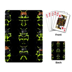 Beetles Insects Bugs Playing Card