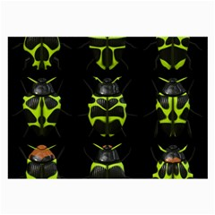 Beetles Insects Bugs Large Glasses Cloth
