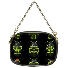 Beetles Insects Bugs Chain Purses (one Side)