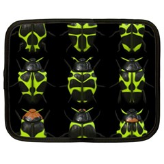 Beetles Insects Bugs Netbook Case (xxl)