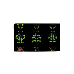Beetles Insects Bugs Cosmetic Bag (small)