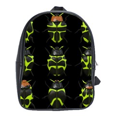 Beetles Insects Bugs School Bags(large)
