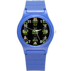 Beetles Insects Bugs Round Plastic Sport Watch (s)