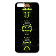 Beetles Insects Bugs Apple Seamless Iphone 5 Case (clear)