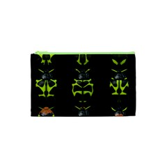 Beetles Insects Bugs Cosmetic Bag (xs)