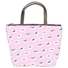 Girly Girlie Punk Skull Bucket Bags