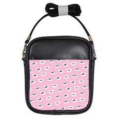 Girly Girlie Punk Skull Girls Sling Bags