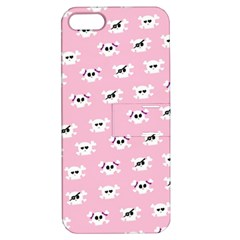 Girly Girlie Punk Skull Apple Iphone 5 Hardshell Case With Stand